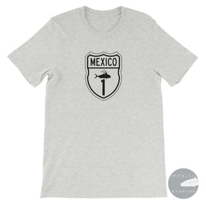 Mexico 1 Rooster Fish Highway Athletic Heather / S Shirt