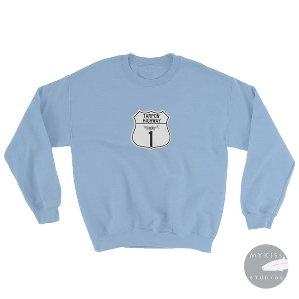 Tarpon Highway Sweatshirt Light Blue / S