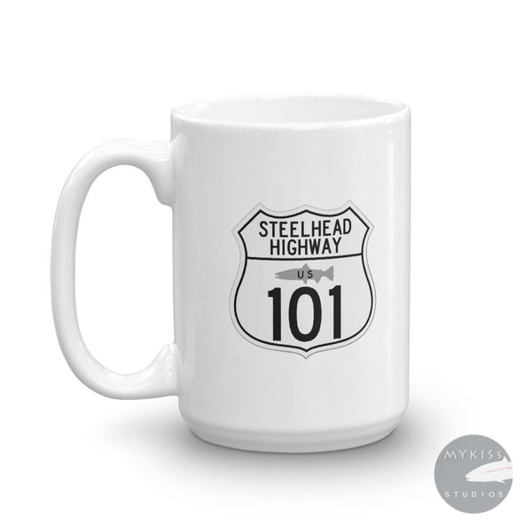 Steelhead Highway Coffee Mug