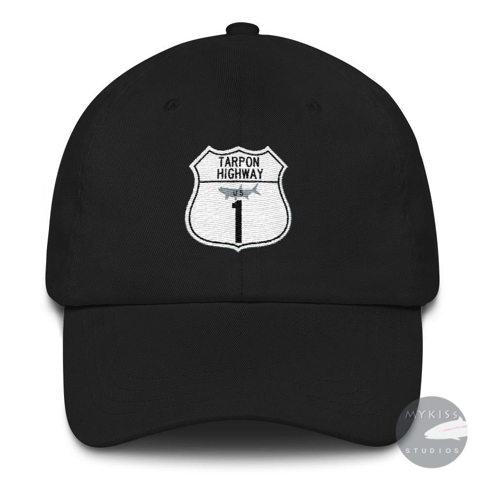 Tarpon Highway Hat Black