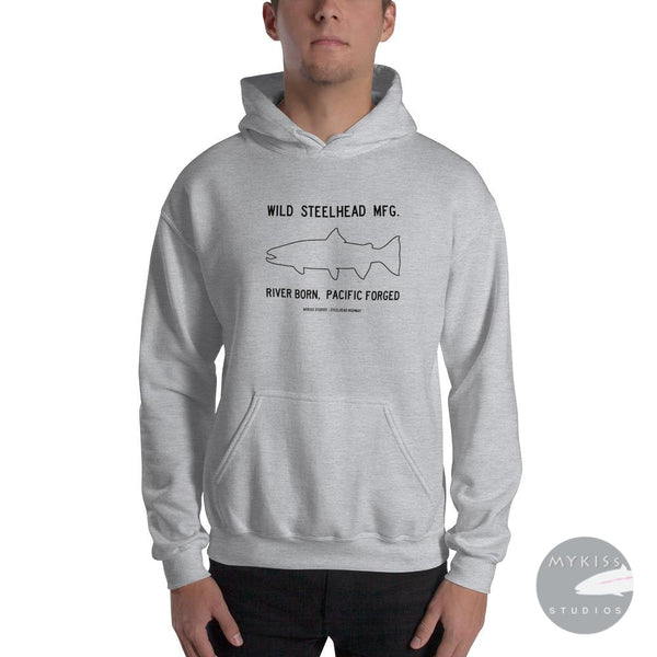 Wild Steelhead Mfg. S Sweat Shirt