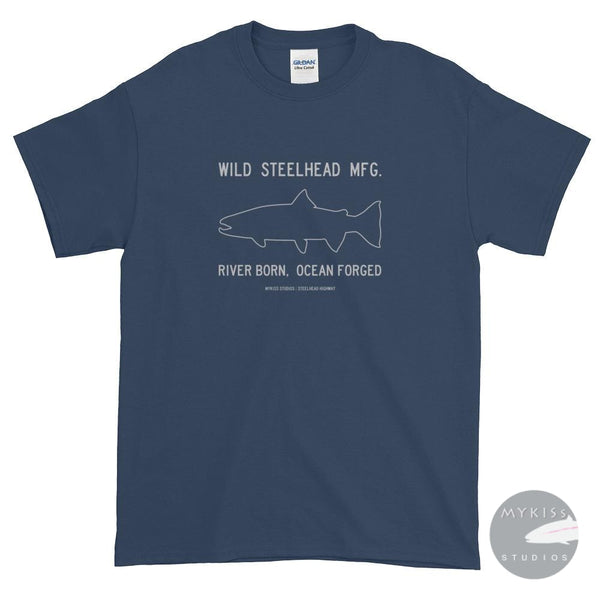 Wild Steelhead Mfg. Dark Blue Dusk / S Shirts