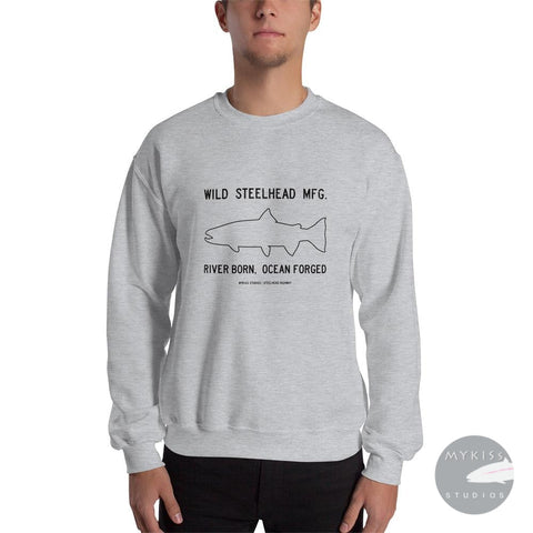 Wild Steelhead Mfg. Light S Sweat Shirt