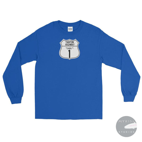Tarpon Highwaylong Sleeve T-Shirt Royal / S Shirt