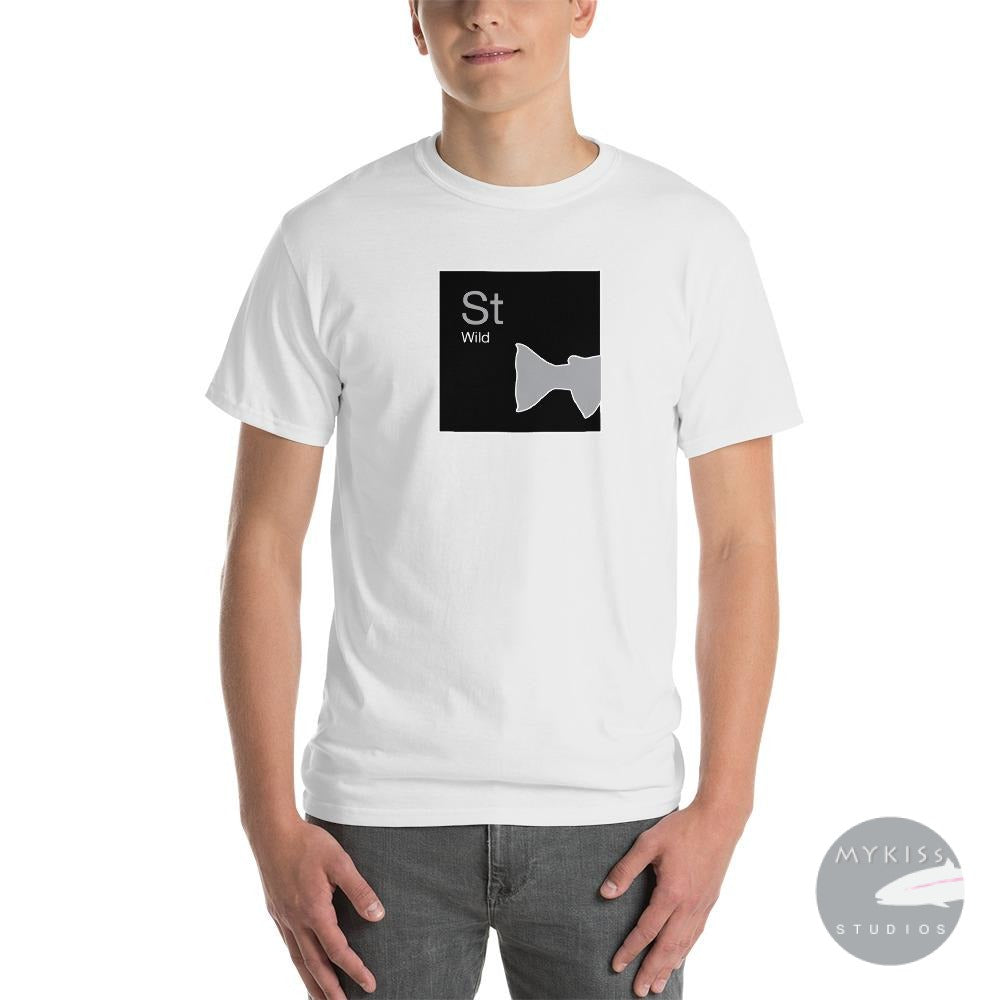 Steelhead Periodic Table T-Shirt-Tails White / S Shirt