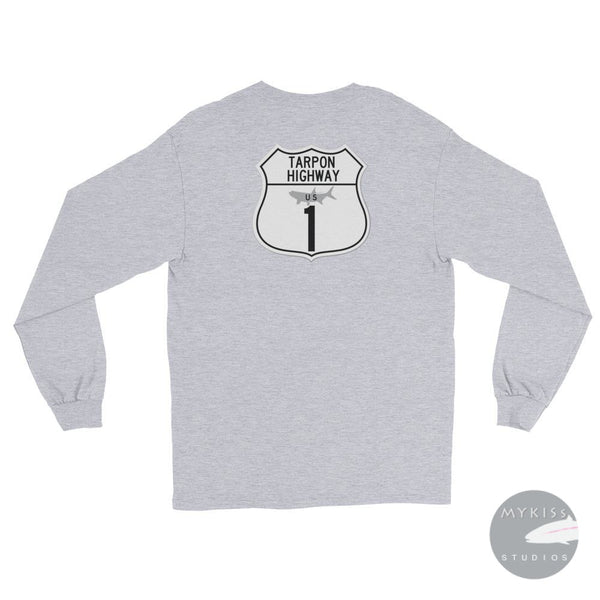 Tarpon Highwaylong Sleeve T-Shirt Sport Grey / S
