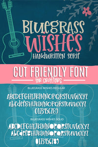 Bluegrass Wishes Handwritten Font - Sabrina Schleiger Design