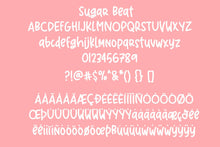 Sugar Beat Handwritten Font