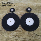 Vinyl Earrings