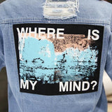 """Where is my mind"" Jacket"