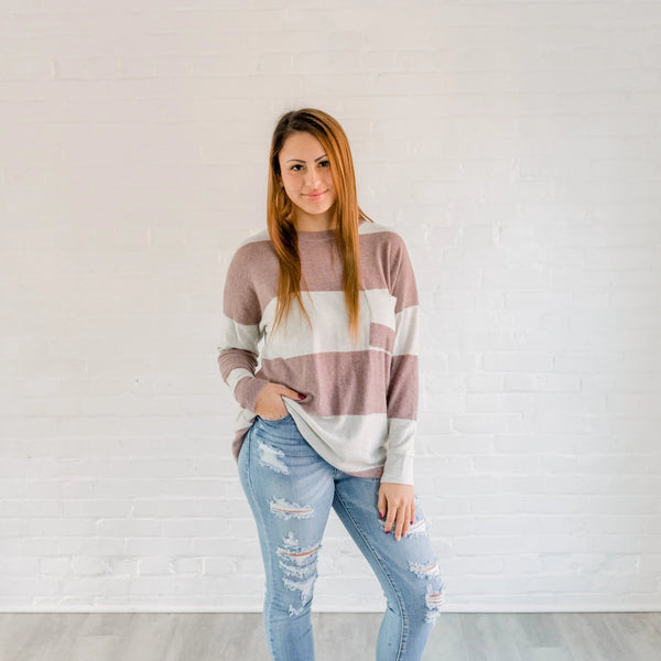 Crew Striped Top