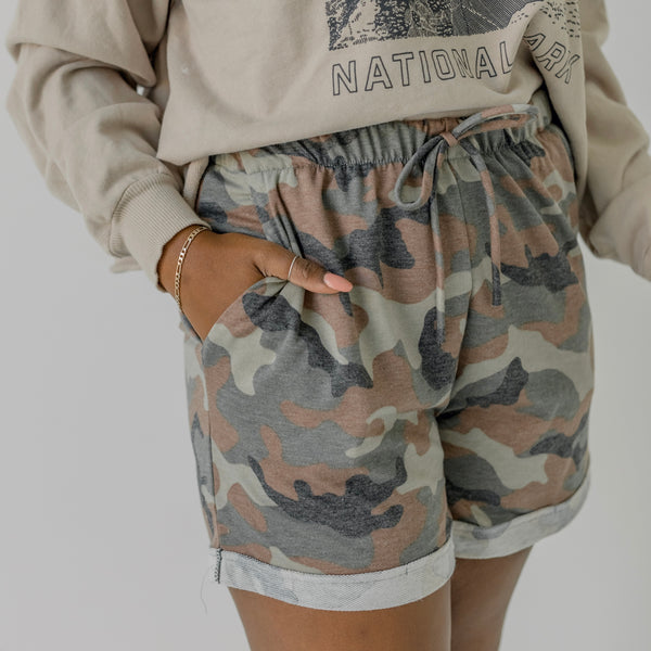 Cadet Kelly Camo Shorts