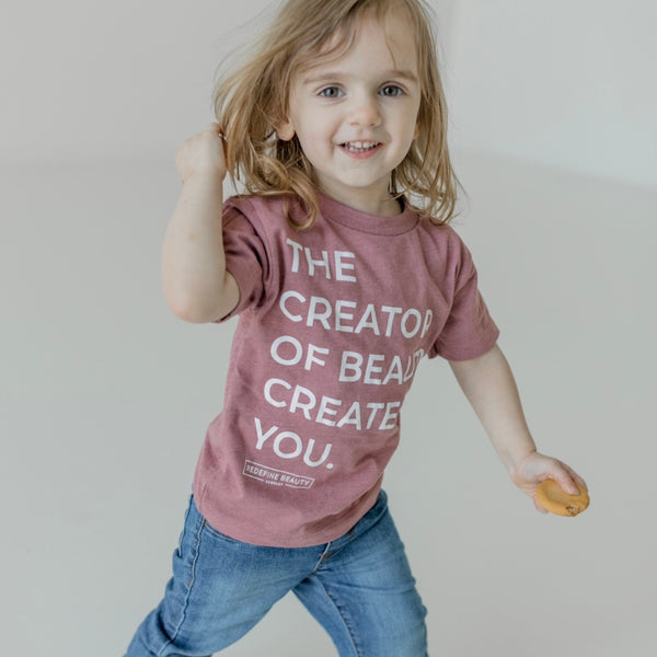 """Creator of Beauty"" Toddler Tee"
