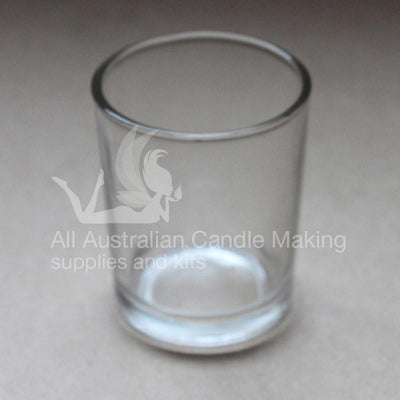 Clear Candle Glass Votive 80ml