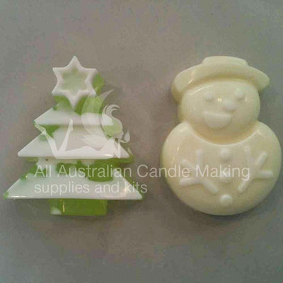 Christmas Silicon Soap Mould Set