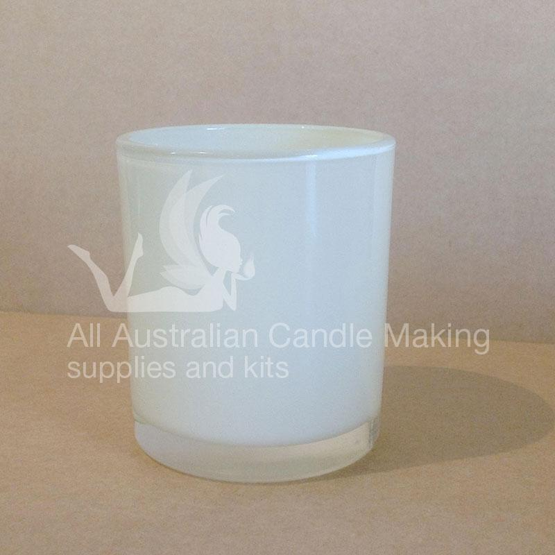 SPECIAL 12 Small-Medium Candle Glass - White