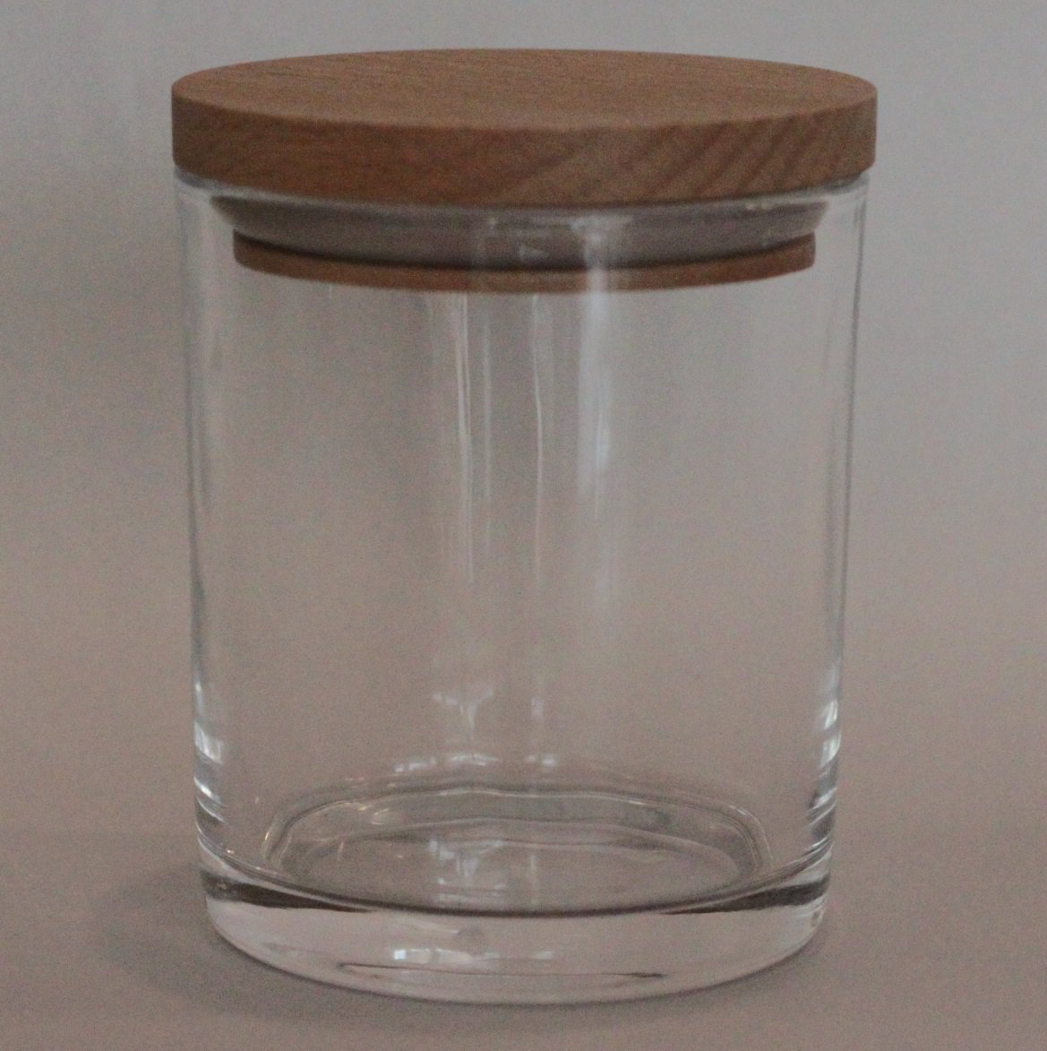 SPECIAL 12 Small-Medium Candle Glass - Clear/Beech Lid
