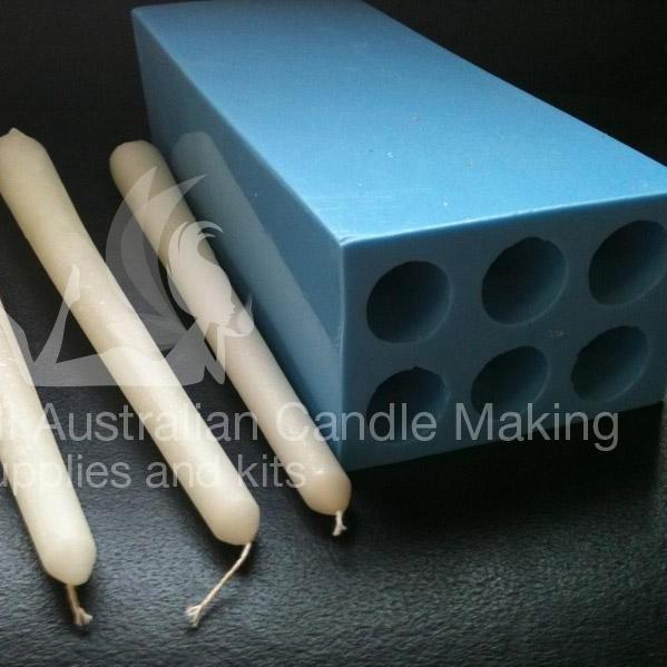 Silicone for candle mold making