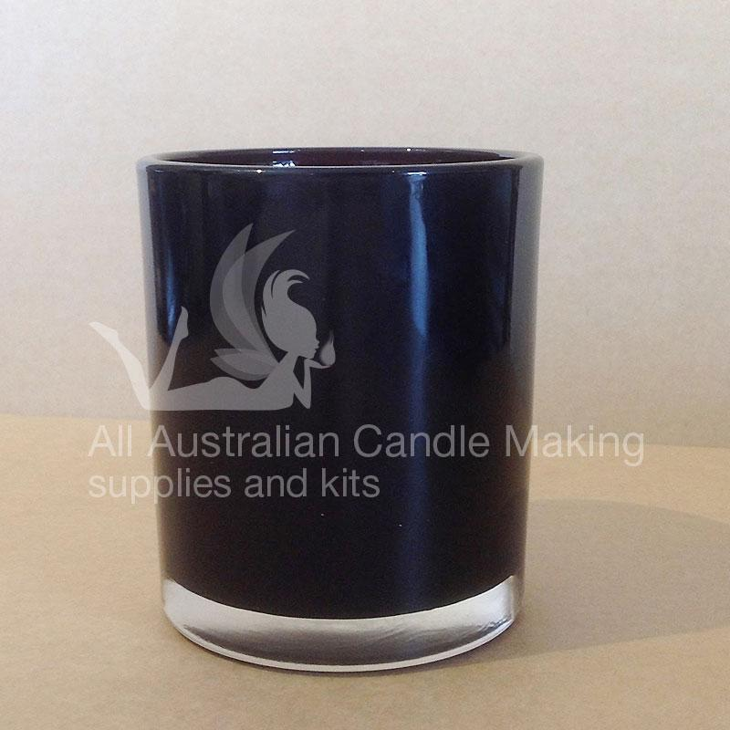 SPECIAL 12 Small-Medium Candle Glass - Black
