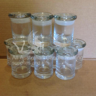 Make 10+ Soy Candle Making Kit - 10 glasses
