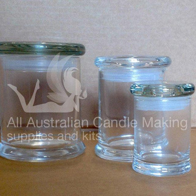 Metro Jar -Mini Candle Glass