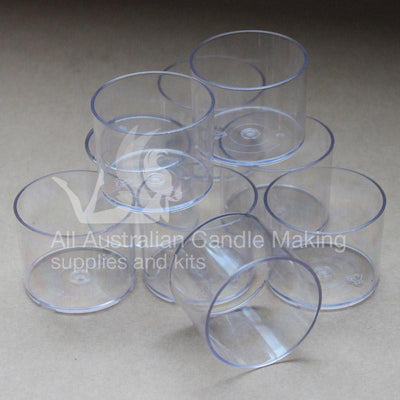 Tea Light Cups - Plastic Tall