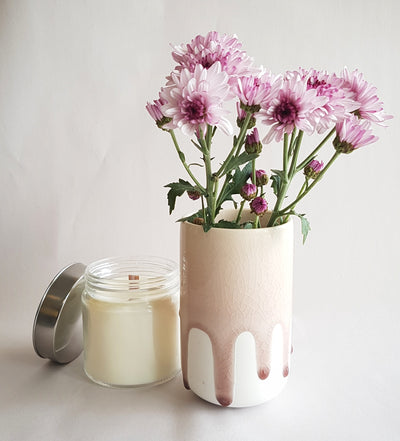 Modern Mason Jar Candle Glass