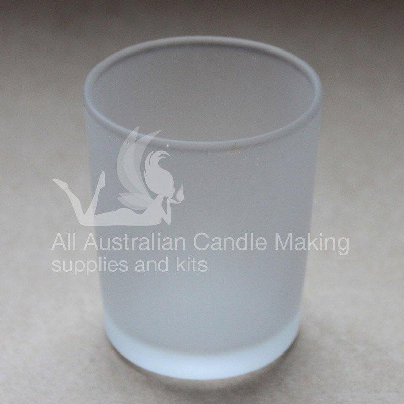 SPECIAL 12 Medium-Large Candle Glass - Frosted