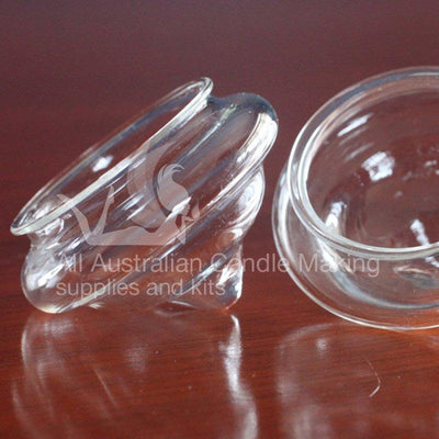 Floating Glass Tea Light Holder