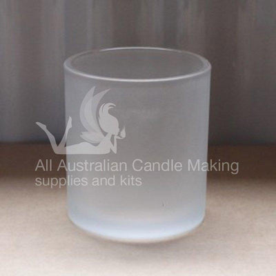Large Candle Glass - Frosted