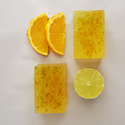 NEW* Transparent Sweet Orange Soap Kit