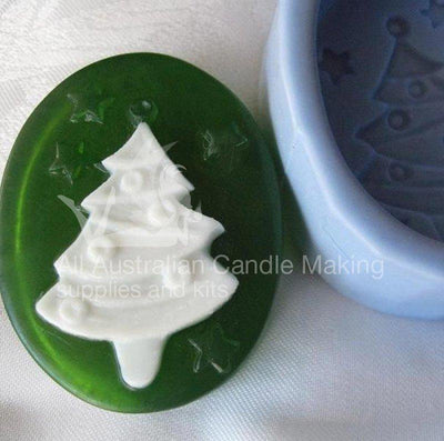 Christmas tree soap mould