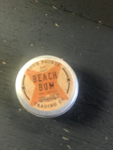 Beach bum soy candle in tin 2oz