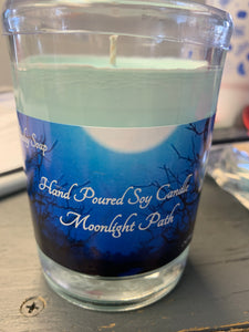 Sudsy soap 8oz Moonlight Path candle