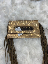 Sloan clutch with fringe
