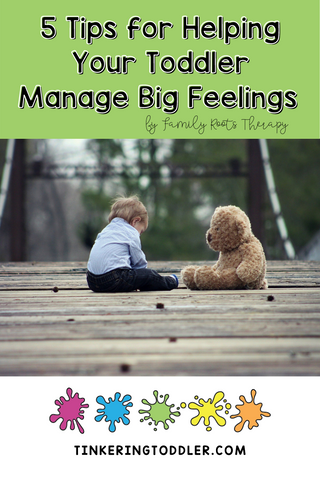 5 Tips for Helping Toddlers Manage Big Feelings and Emotions