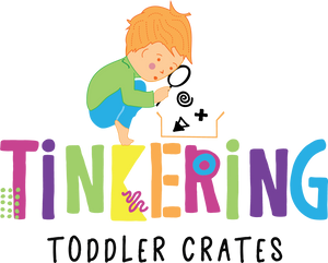 Tinkering Toddler Crates Logo