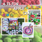 A Is For Apple Crate