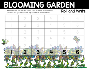 Blooming Garden Roll and Write