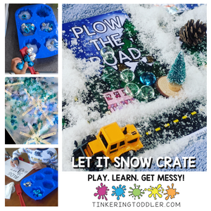 Let It Snow Crate