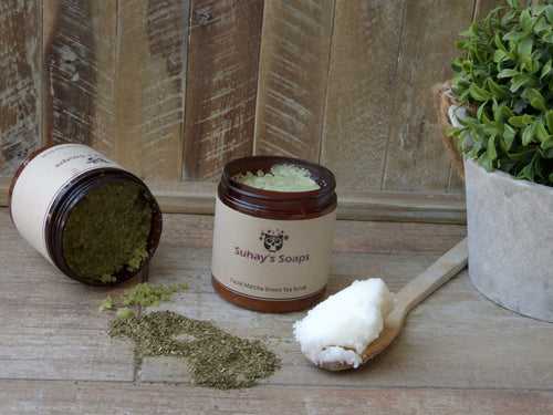 Matcha Green Tea Face Scrub