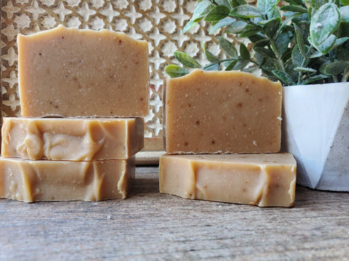 Tea tree oil (Melaleuca oil) soap