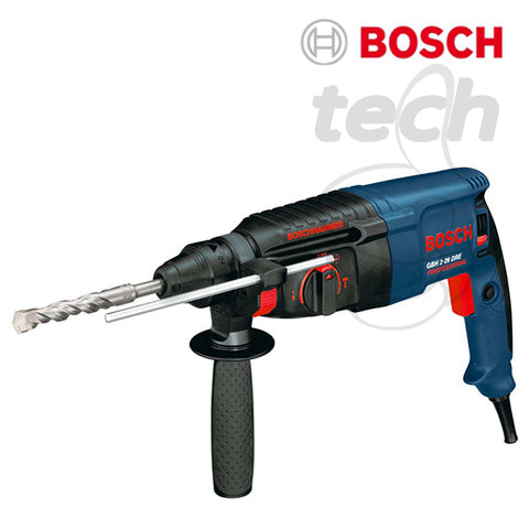 Mesin Bor Rotary Hammer + Demolition Bosch GBH 2-26 DRE Professional