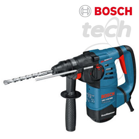 Mesin Bor Rotary Hammer + Demolition Bosch GBH 3-28 DRE Professional