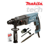 Mesin Bor Rotary Hammer + Demolition Makita HR2470 X5