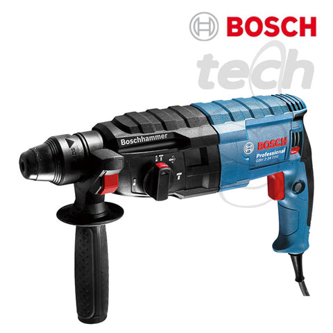 Mesin Bor Rotary Hammer + Demolition Bosch GBH 2-24 DRE Professional