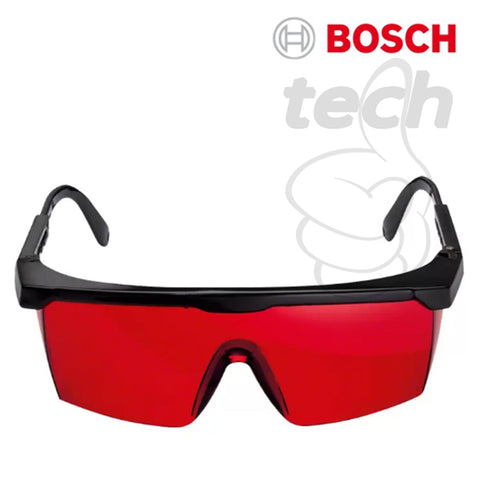 Kacamata Laser Viewing Glasses Goggles Bosch - Red