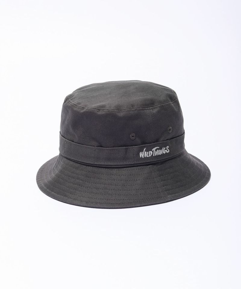 Wild Things Bucket Hat Charcoal