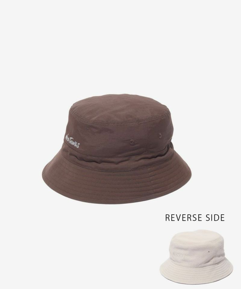 Wild Things Reversible Bucket Hat Brown