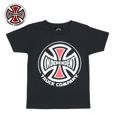 Independent Truck Company Kids S/S Tee Black
